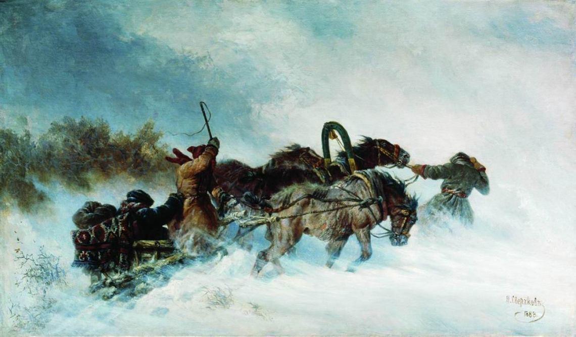 Aleksandr Pushkin: 'La tempestad de nieve'